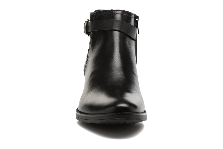 Bottines et boots Geox D Mendi Np Abx D D746SD Noir vue portées chaussures