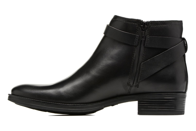 Bottines et boots Geox D Mendi Np Abx D D746SD Noir vue face