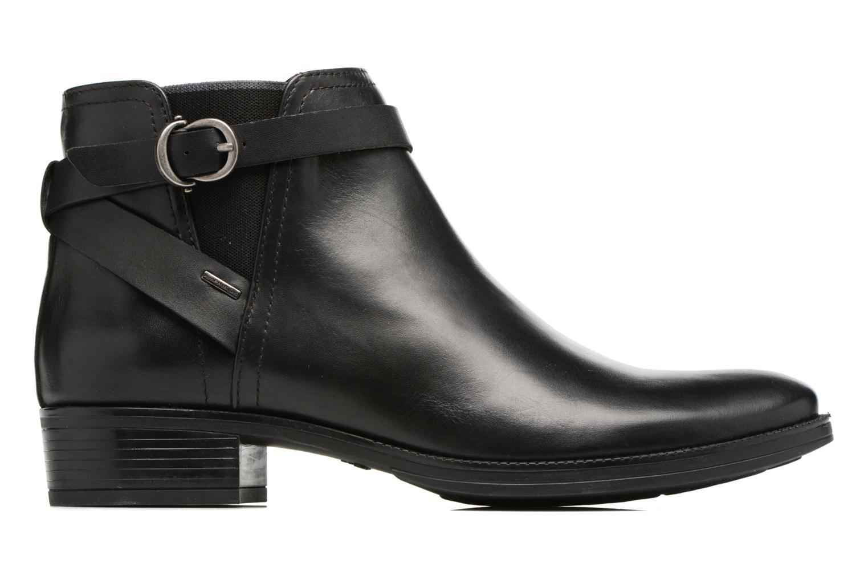 Bottines et boots Geox D Mendi Np Abx D D746SD Noir vue derrière