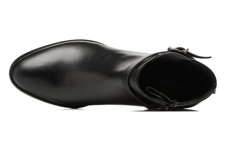 Bottines et boots Geox D Mendi Np Abx D D746SD Noir vue gauche