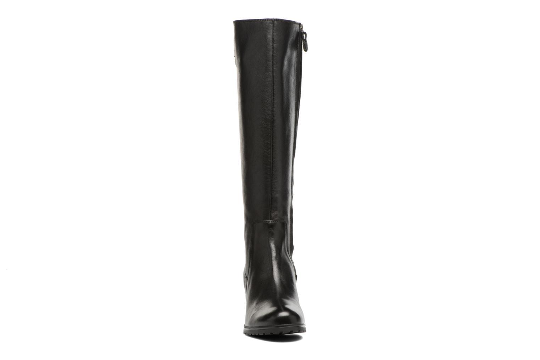 Bottes Geox D New Lise A D746VA Noir vue portées chaussures