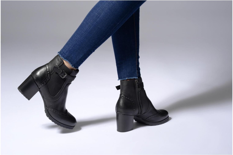 Bottines et boots Geox D New Lise C D746VC Noir vue bas / vue portée sac