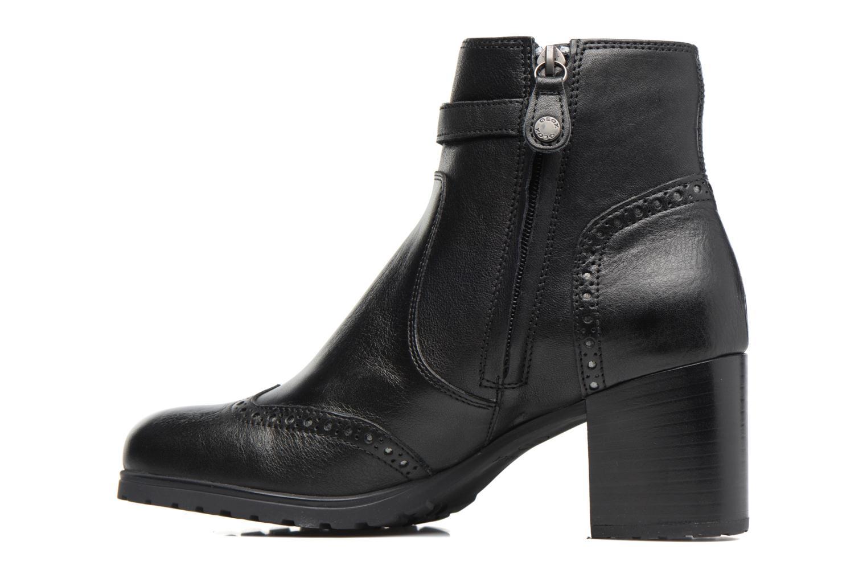 Bottines et boots Geox D New Lise C D746VC Noir vue face