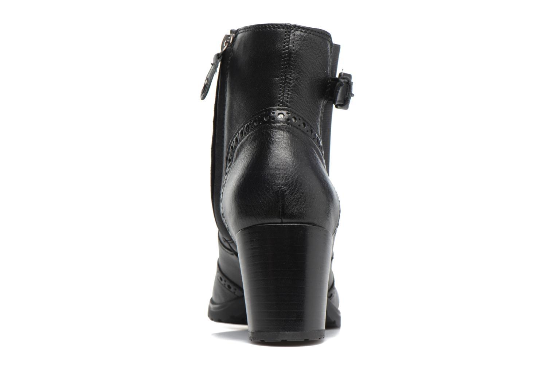 Bottines et boots Geox D New Lise C D746VC Noir vue droite