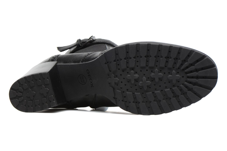 Bottines et boots Geox D New Lise C D746VC Noir vue haut