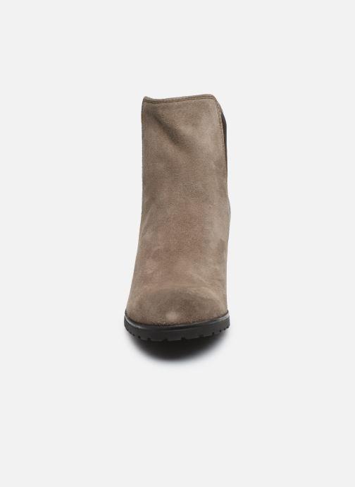 Bottines et boots Geox D New Lise D D746VD Gris vue portées chaussures