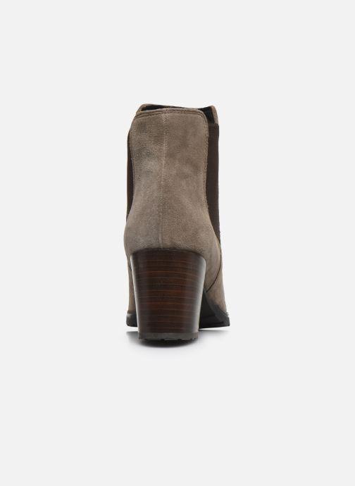 Bottines et boots Geox D New Lise D D746VD Gris vue droite