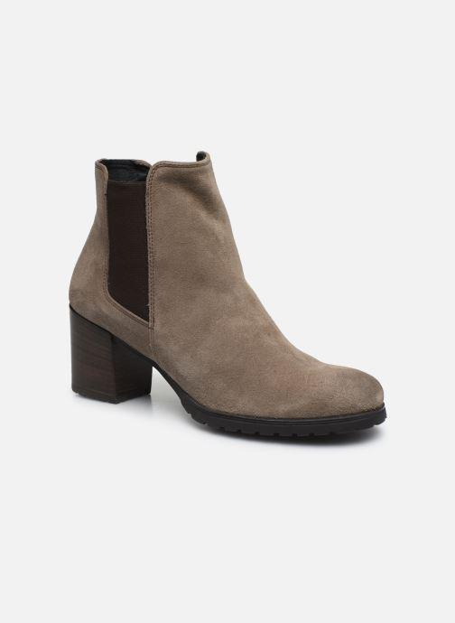 Bottines et boots Geox D New Lise D D746VD Gris vue détail/paire