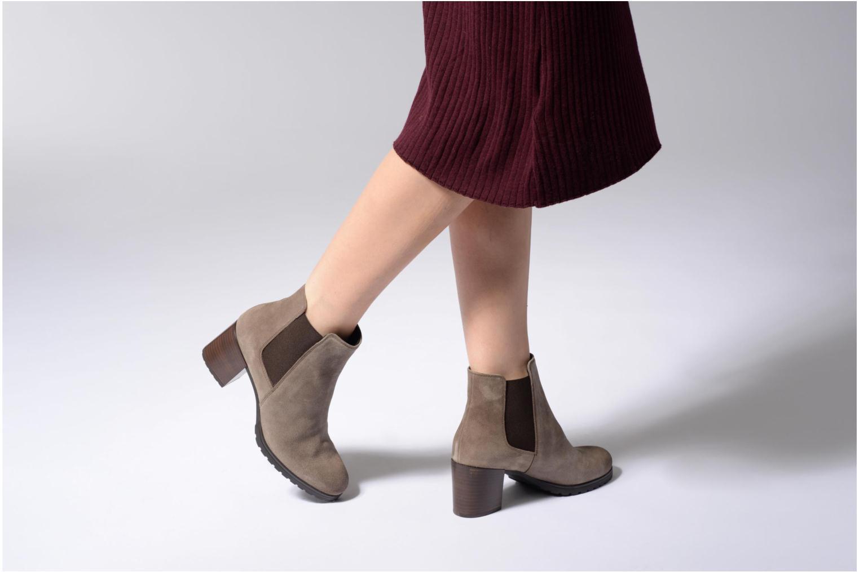 Bottines et boots Geox D New Lise D D746VD Noir vue bas / vue portée sac