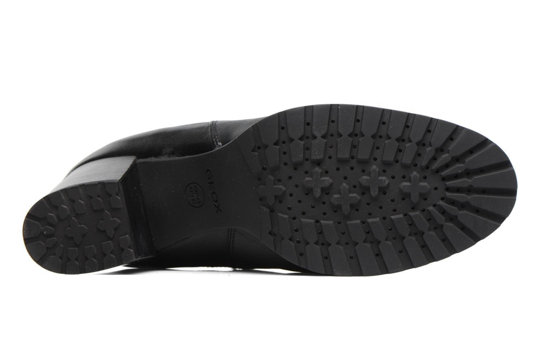 Bottines et boots Geox D New Lise D D746VD Noir vue haut