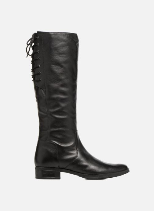 Laarzen Geox D Mendi St B D7490B Zwart achterkant
