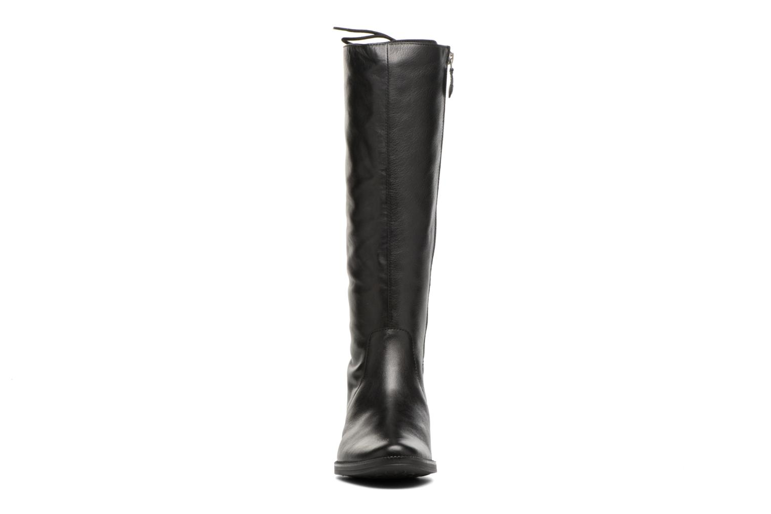 Boots & wellies Geox D Mendi St B D7490B Black model view