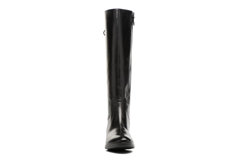 Bottes Geox D Felicity A D74G1A Noir vue portées chaussures