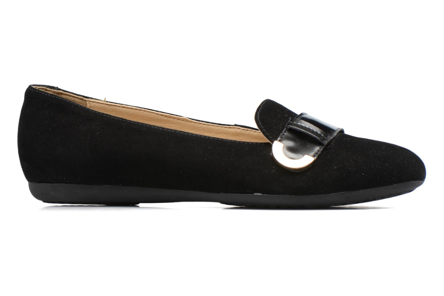 Ballet pumps Geox D Lola A D74M4A Black back view