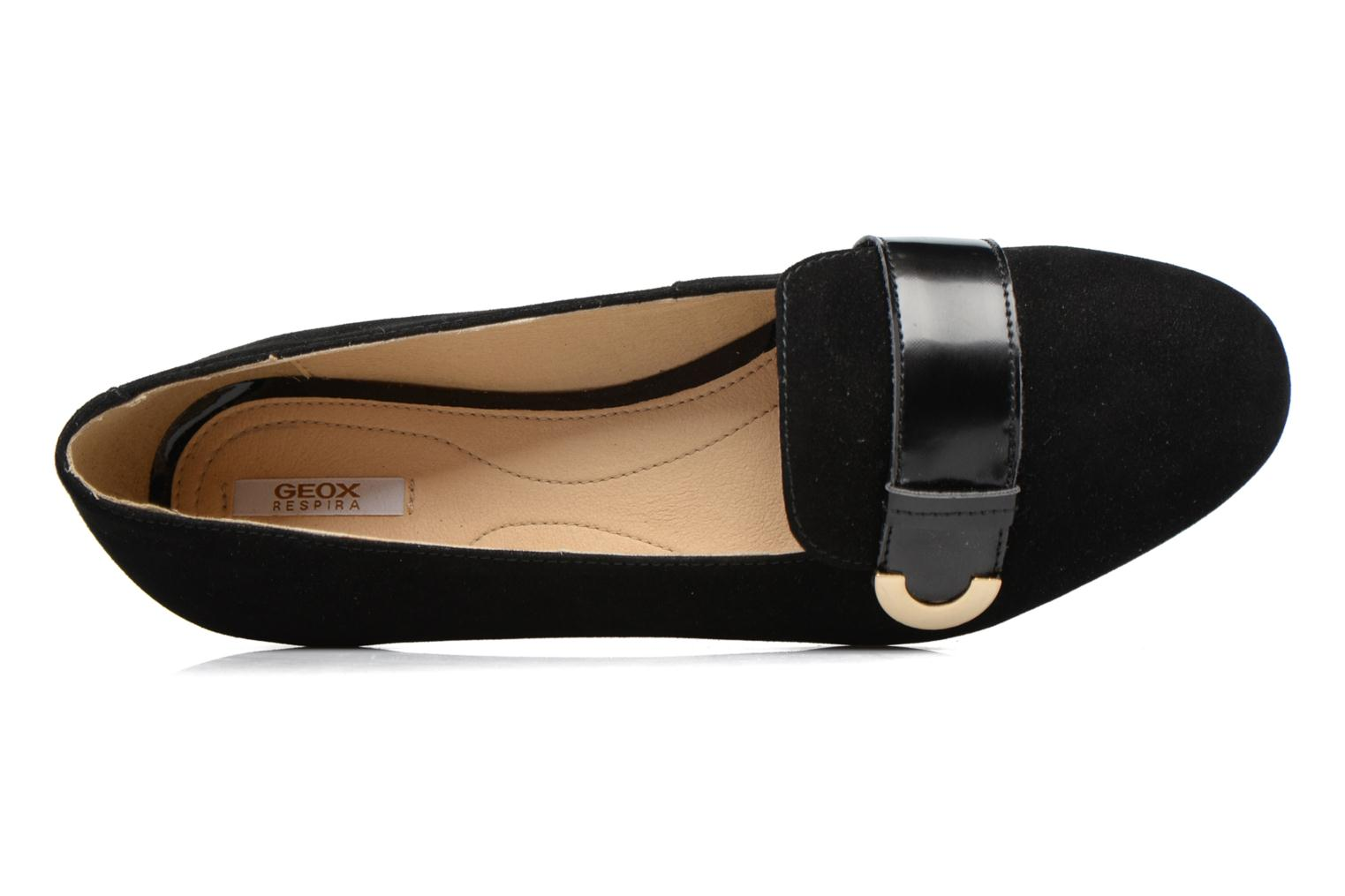 Ballet pumps Geox D Lola A D74M4A Black view from the left