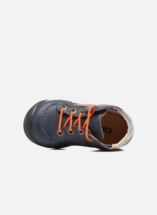 Bottines et boots GBB Racine Bleu vue gauche