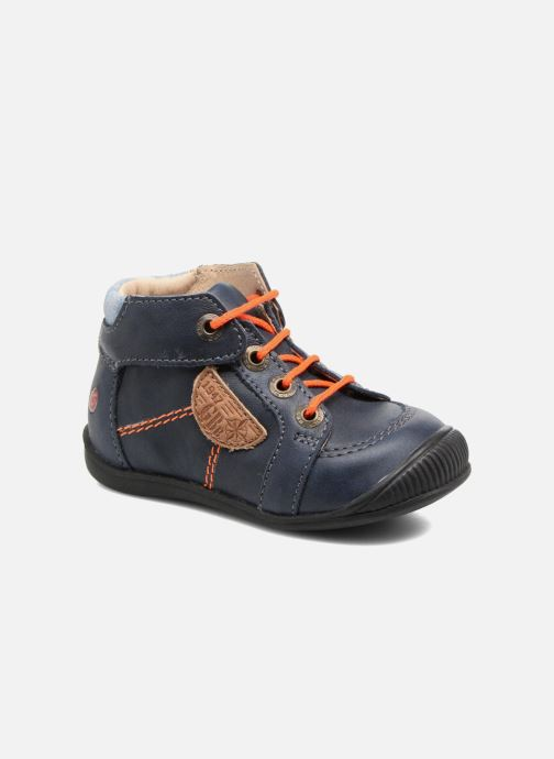 Ankle boots GBB Racine Blue detailed view/ Pair view