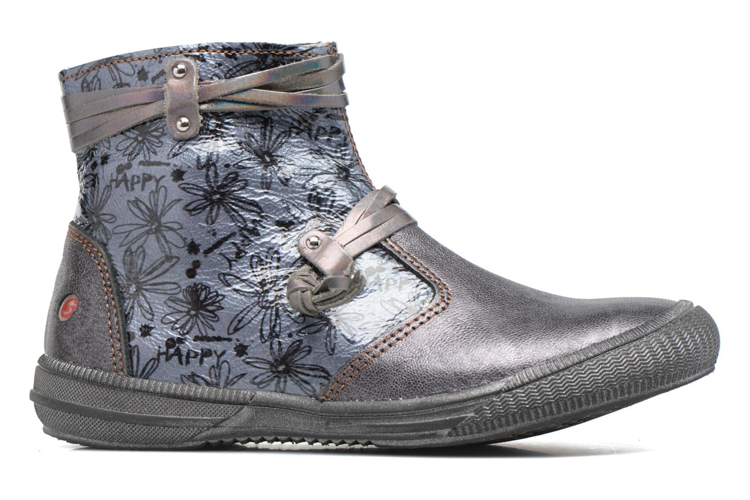 Ankle boots GBB Reva Grey back view