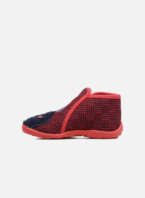 Pantofole GBB Paco Rosso immagine frontale