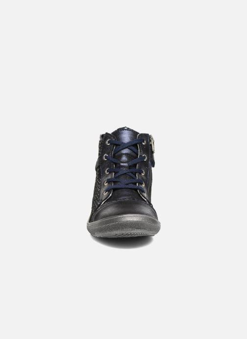 Baskets GBB Romie Bleu vue portées chaussures