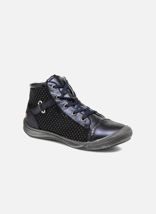 Baskets GBB Romie Bleu vue détail/paire