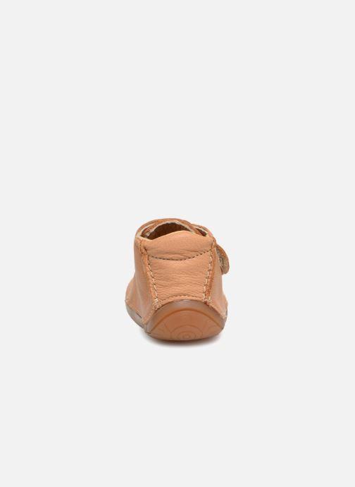 Pantuflas Babybotte Zen Beige vista lateral derecha