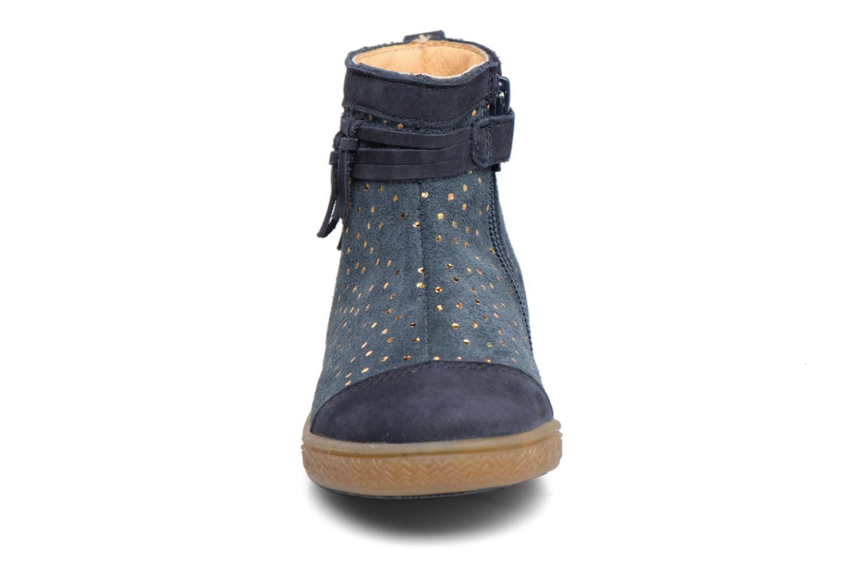 Ankle boots Babybotte Ambalada Blue model view