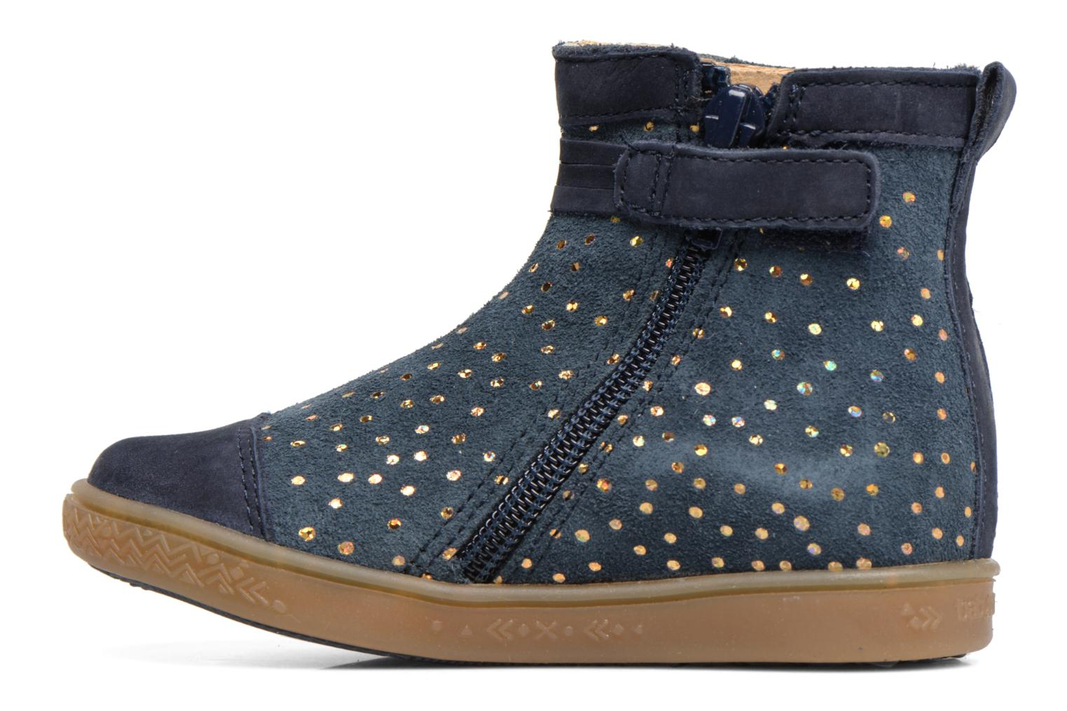 Ankle boots Babybotte Ambalada Blue front view