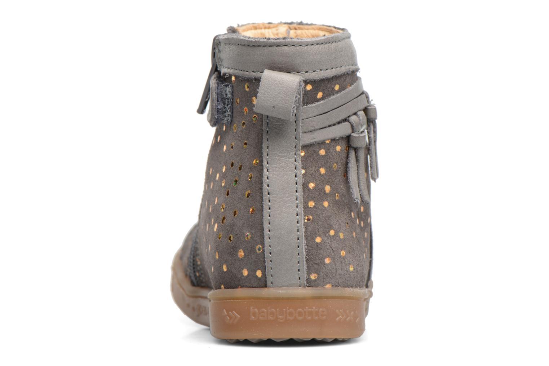 Boots en enkellaarsjes Babybotte Ambalada Grijs rechts