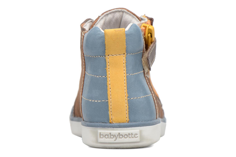 Baskets Babybotte Akro Marron vue droite