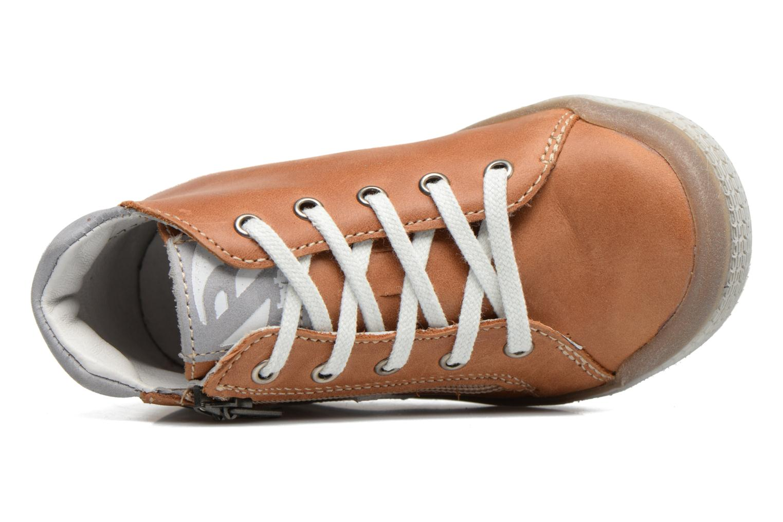 Sneaker Babybotte B3 Lacet braun ansicht von links