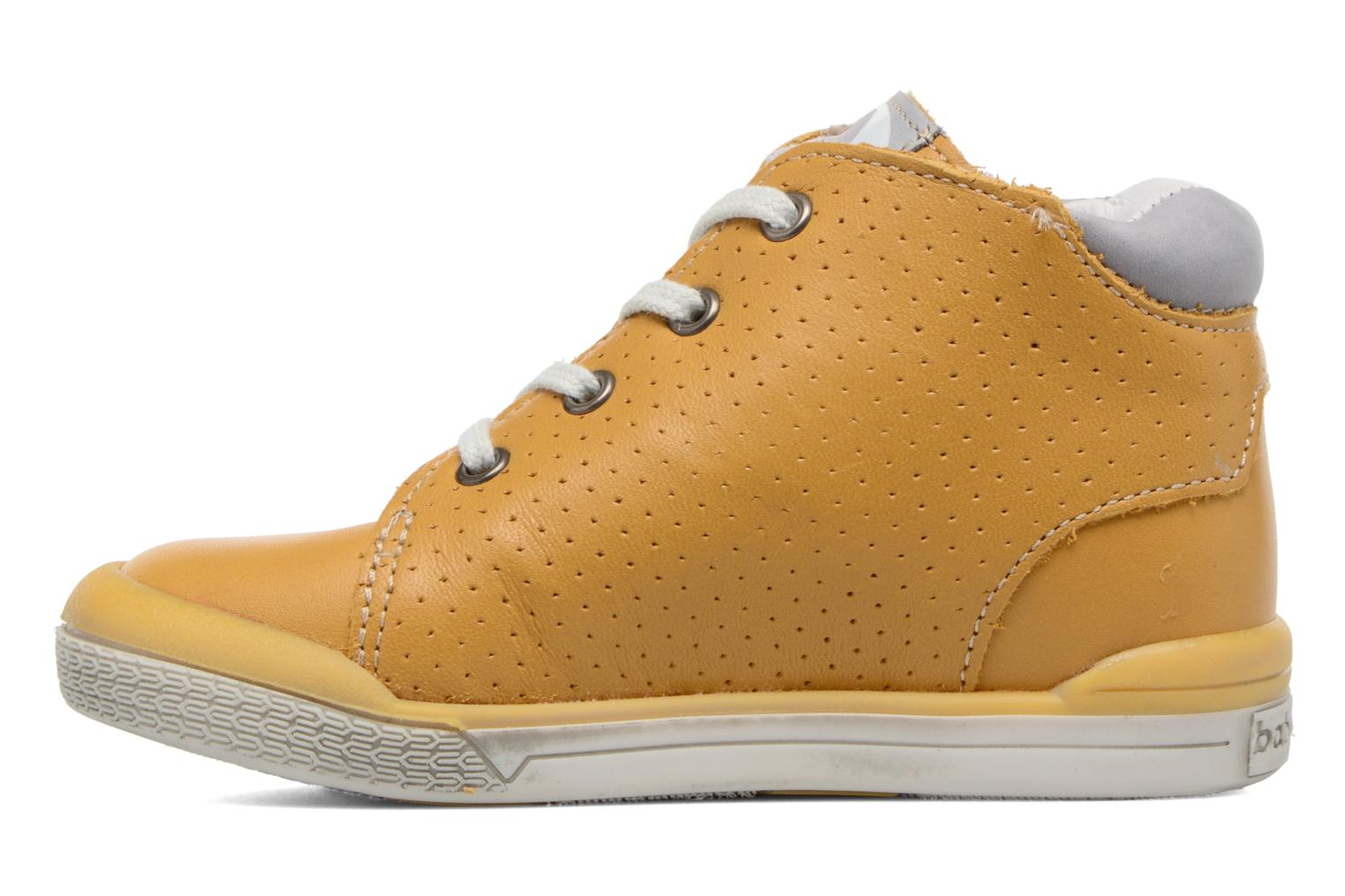 Trainers Babybotte B3 Lacet Yellow front view