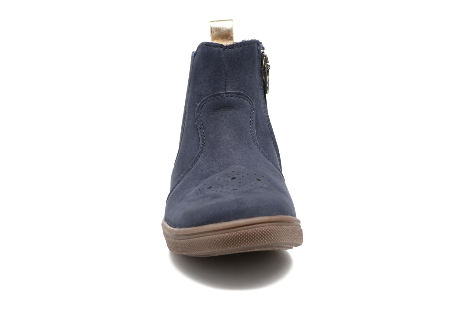 Ankle boots Babybotte Karnaby Blue model view