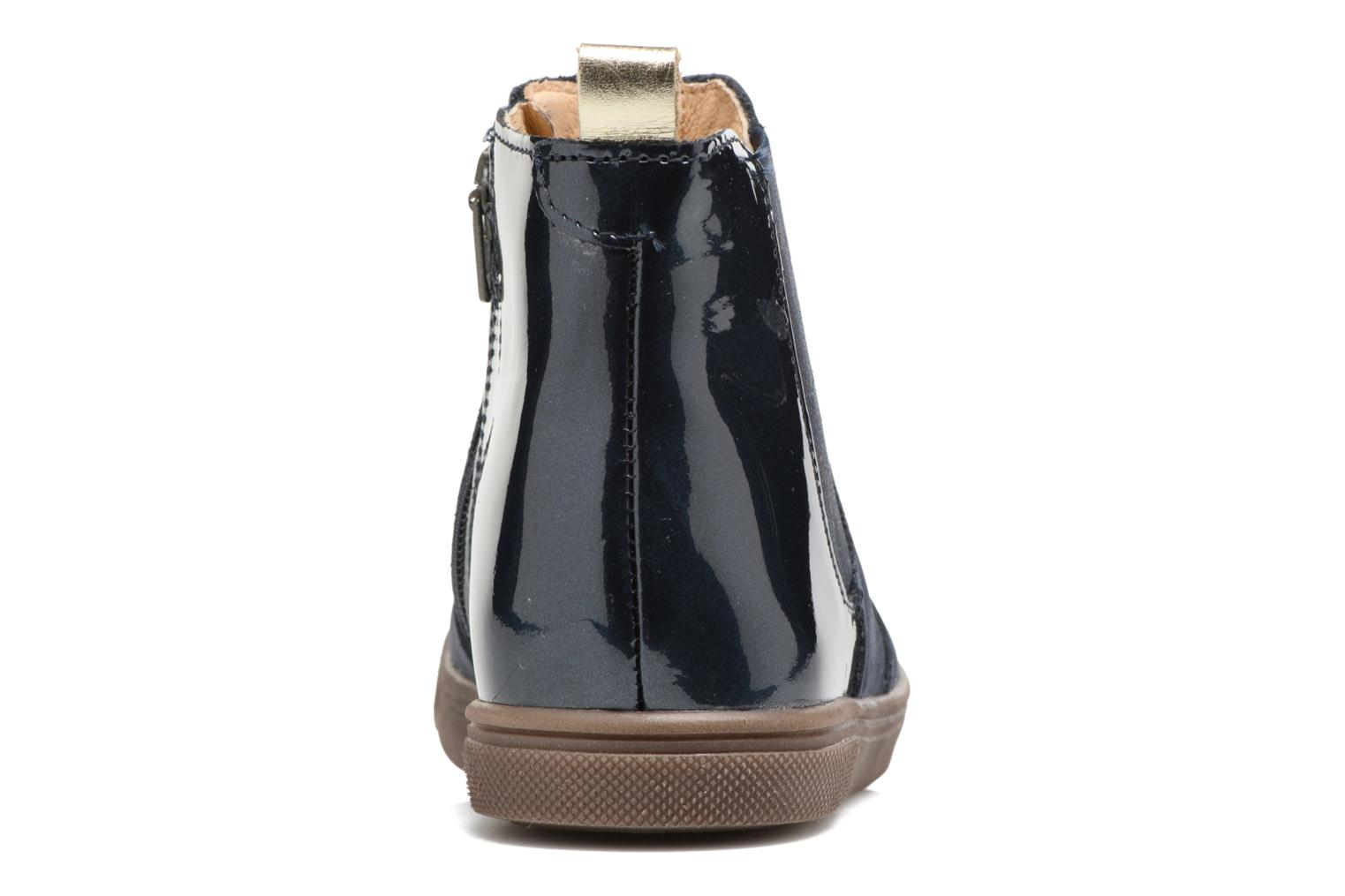 Ankle boots Babybotte Karnaby Blue view from the right