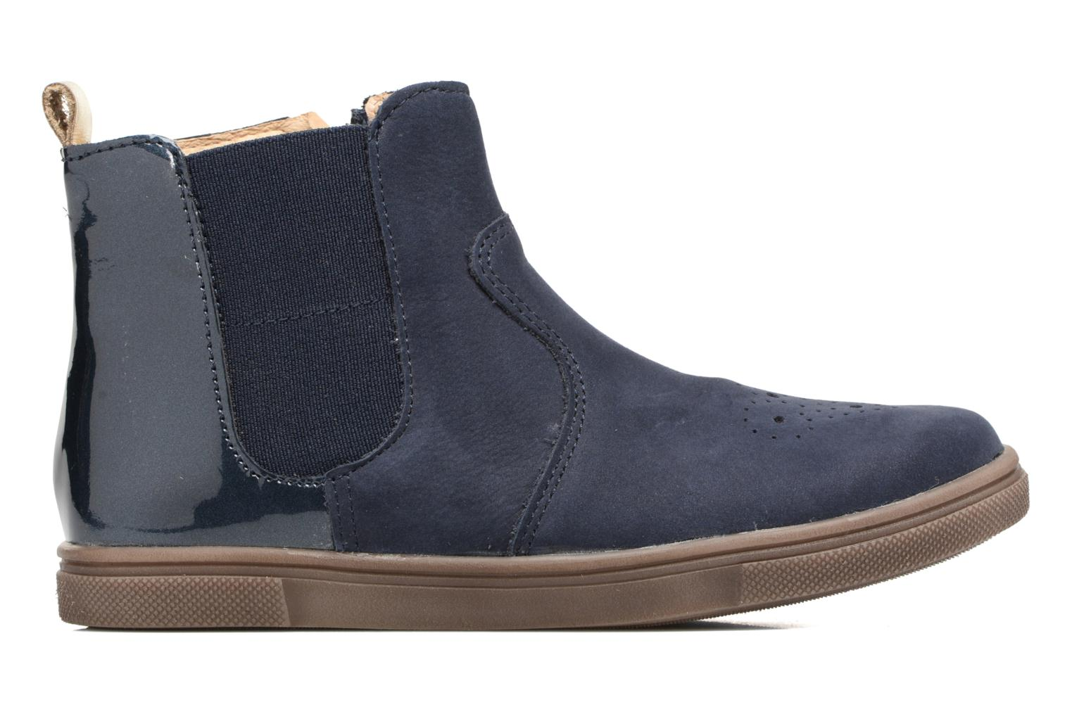 Ankle boots Babybotte Karnaby Blue back view
