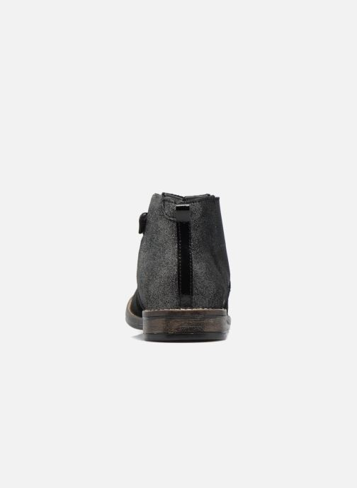 Ankle boots Babybotte Nebuleuse Black view from the right