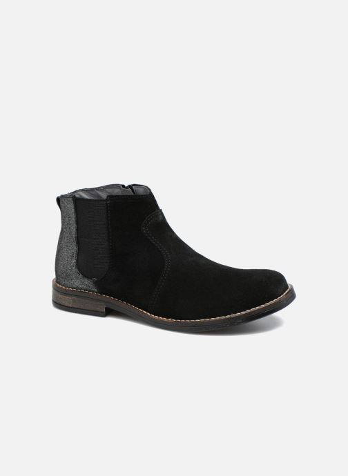 Ankle boots Babybotte Nebuleuse Black detailed view/ Pair view