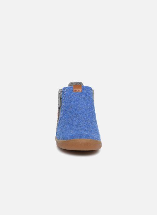 Chaussons Babybotte Maxime Multicolore vue portées chaussures