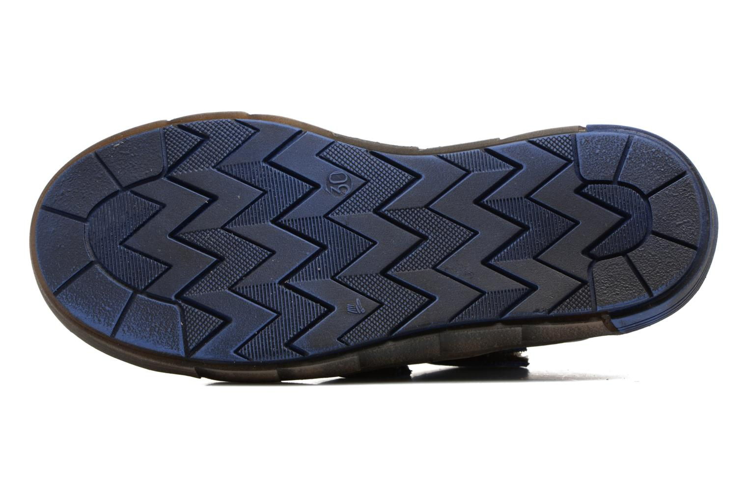 Trainers Babybotte Kongo Blue view from above