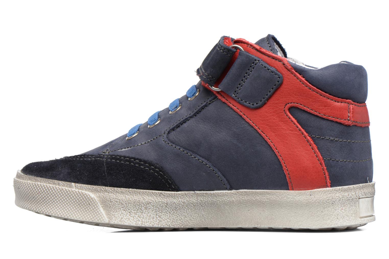 Sneakers Babybotte Karamel Azzurro immagine frontale