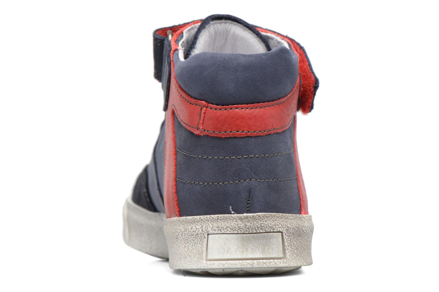 Trainers Babybotte Karamel Blue view from the right
