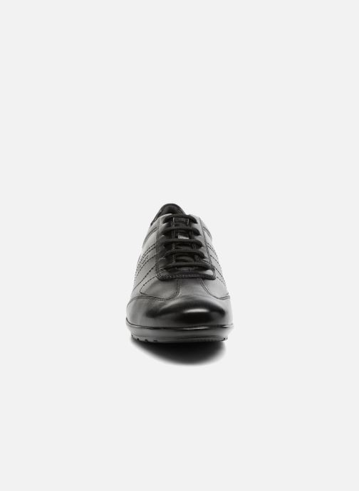 Sneaker Geox U Symbol B U74A5B schwarz schuhe getragen