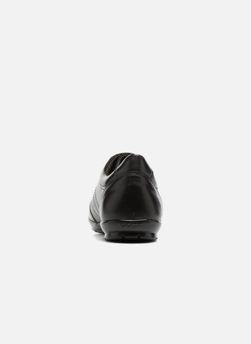 Sneaker Geox U Symbol B U74A5B schwarz ansicht von rechts