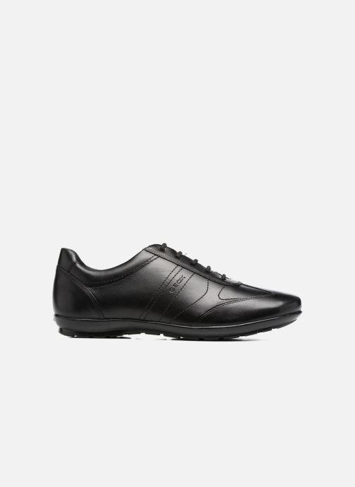 Sneaker Geox U Symbol B U74A5B schwarz ansicht von hinten