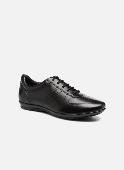 Sneakers Geox U Symbol B U74A5B Zwart detail