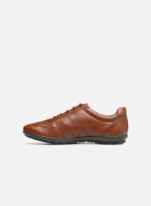 Sneaker Geox U Symbol B U74A5B braun ansicht von vorne