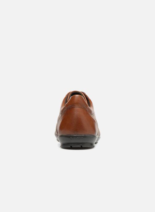 Sneaker Geox U Symbol B U74A5B braun ansicht von rechts