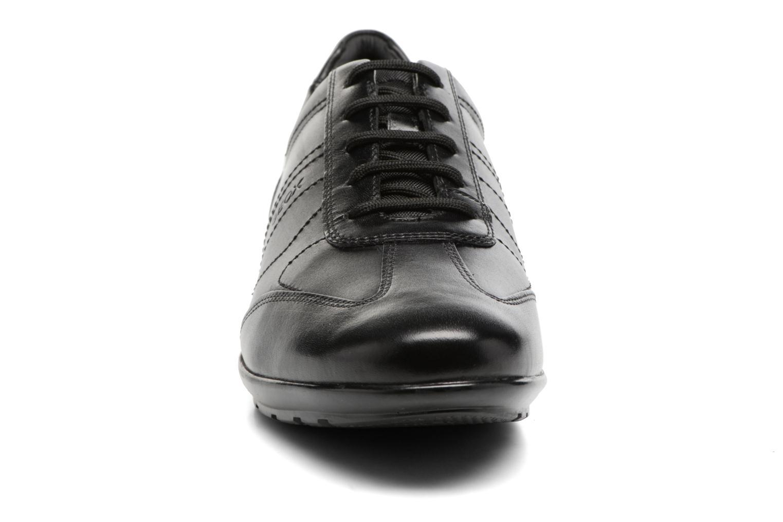 Baskets Geox U Symbol B U74A5B Noir vue portées chaussures