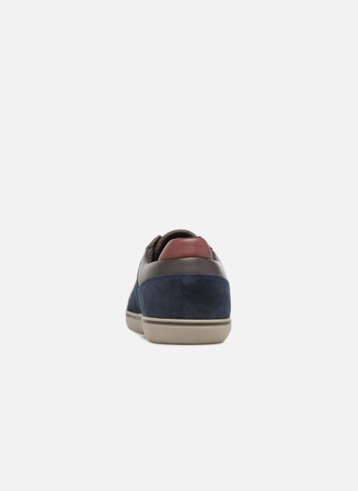 Sneaker Geox U Box A U74R3A blau ansicht von rechts