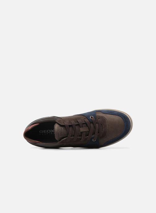 Sneaker Geox U Box A U74R3A blau ansicht von links